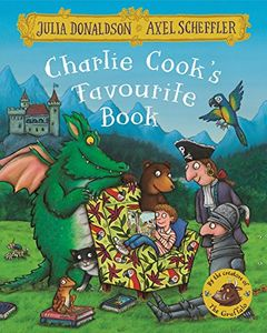Charlie Cooks Favourite Book, Julia Donaldson, Free Prime Delivery