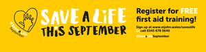 Save a Life September