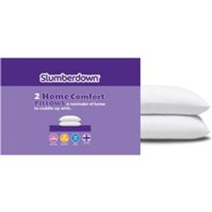 *HALF PRICE* Slumberdown Home Comfort Pillows 2 Pack