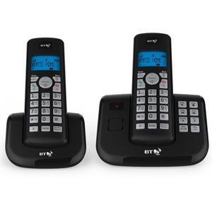 BT 3560 Cordless Phone with Nuisance Call Blocking and Answering Machine - Twin