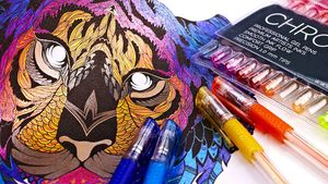 Free Colouring in Pens (If Selected to Review)