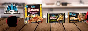 Chicago Town 1x Pizza, 1x Side & 1x Dessert Meal Deal