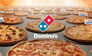 Free Cookies on Orders over £15 at Domino's Pizza