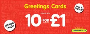 Greetings Cards 20 for £1-Limited Time
