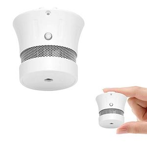 Mini Smoke Alarm Detector 10-Year Battery Life(Battery Included) EN14604 Listed