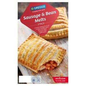 Sausage & Bean Melts £1