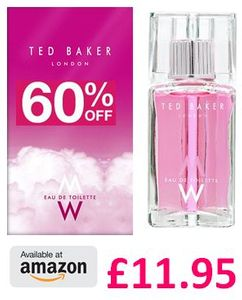 Ted Baker EDT Spray, 75ml. CHEAP PRICE AT AMAZON!