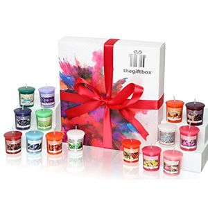 The Ultimate Candle Gift Box Hosting 16 X Colourful Scented Wax Volvites