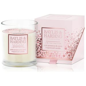 Baylis & Harding Escape Candle - Pink Prosecco & Cassis