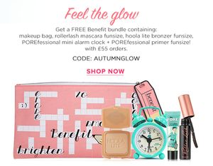 Free Benefit Bundle with Purchase over £55