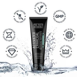 Charcoal Teeth Whitening Toothpaste for Only 99p! Amazon Best Selling Toothpaste