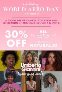 30% off All Curl and Coily Curl Products