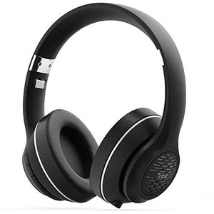 Bluetooth Headphones, HiFi Wireless Headphones with Rich Bass, 24 Hours Playtime