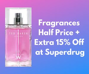 20 Fragrances Half Price or More + Extra 15% Off