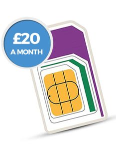 CRACKING DEAL! 100GB Data, Unlimited Mins/texts, Roaming - Only £20 per Month!