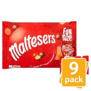 Half Price Maltesers Funsize Minis 9 Pack 195G