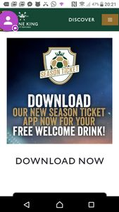 Free drink at Greene King pubs