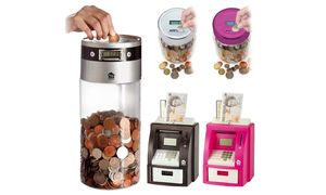 Money Counting Jar