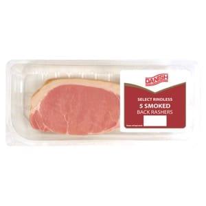Danish 5 Rashers Smoked Bacon