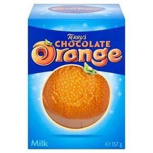 Terry's Chocolate Orange Milk Chocolate. MY FAVOURITE! YUMMY!