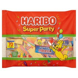 Great Value HARIBO Super Party Bag 70 Mini Bags