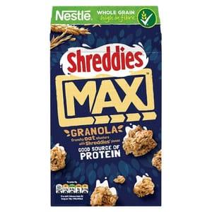 Nestle Shreddies Max Oat Granola 400G