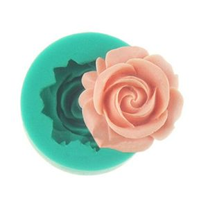 Rose Sugar Cake Chocolate Jelly Pudding Cake Baking Decorating Model DIY Tool