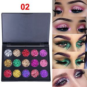 15 Highly Pigmented Makeup Eye Shadow Colors