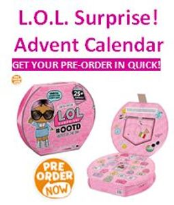 L.O.L. Surprise! Advent Calendar SELLING LIKE HOTCAKES! Be Quick!