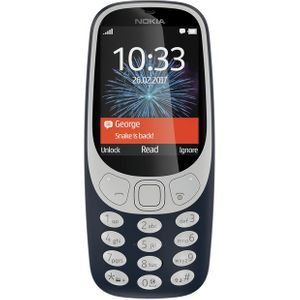Vodafone Nokia 3310 Mobile Phone - Grey Blue