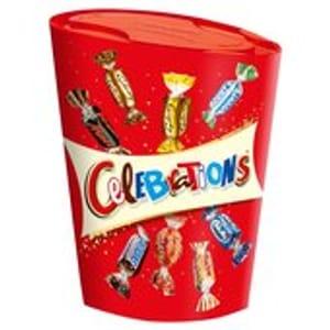 Celebrations 245g BUY 4 for £5