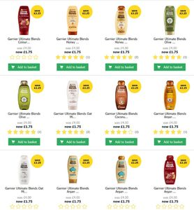 Garnier Ultimate Blends Shampoo + Conditioner Sale