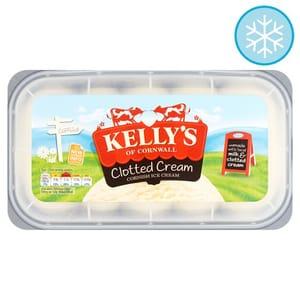 Half Price Kelly's Clotted Cream Ice Cream 1 Litre