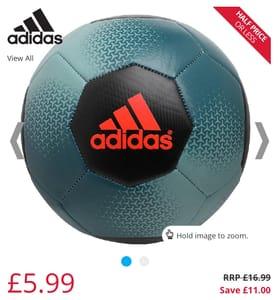 Adidas ACE Glider Football Size 5/ 4