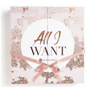 Glossy Box All I Want Advent Calendar out Now