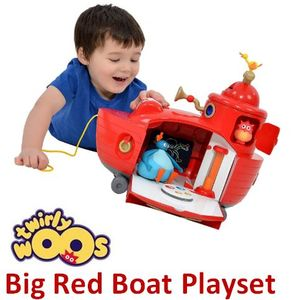 SAVE £10. Twirlywoos Big Red Boat Playset £39.99 at Amazon