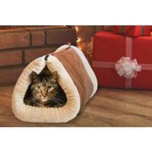 Self-Heating 2-in-1 Cat Cave Bed and Mat