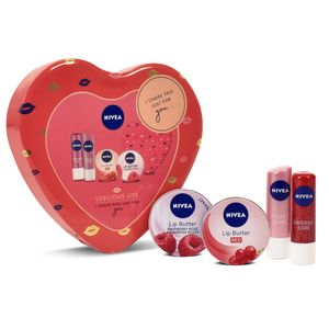 Nivea Luscious Lips Gift Pack