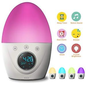 70% off FiveHome Kids Alarm Clock Wake up Light Alarm Clock