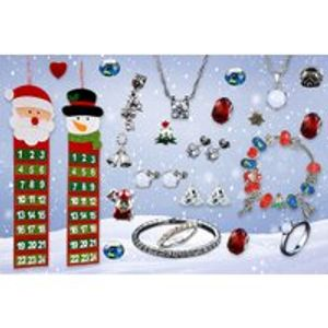 Christmas Jewellery Advent Calendar Made with Crystals from Swarovski®