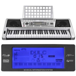 61 Keys Digital Music Keyboard