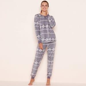Fleece Pyjama Set