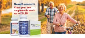 Free Supplements worth up to 14.99