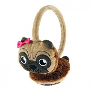 Kids Earmuffs/ Pug