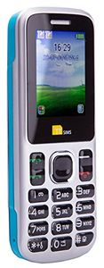 Phone - Camera - Bluetooth - Cheapest Twin 2 Sim Phone - Blue
