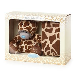 Me to You Me to You Giraffe Onesie Bear and Socks Gift Set