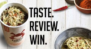 Fancy a Free Pot of Kabuto Noodles? Review Online
