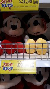 Micky and Minnie Large Teddys
