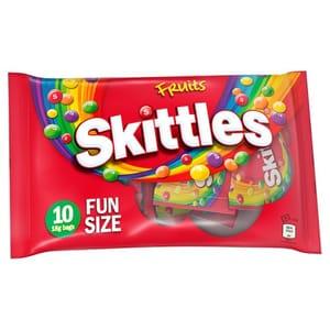 Skittles 10 Fruit Funsize Bags 180G