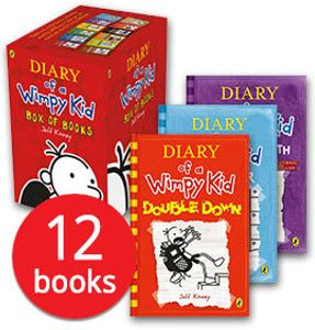 Diary of a Wimpy Kid Collection - 12 Book Collection (EXTRA 15% off 'TIL SUNDAY)